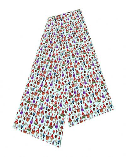 Selina-Jayne Gnomes Limited Edition Designer Silk Scarf